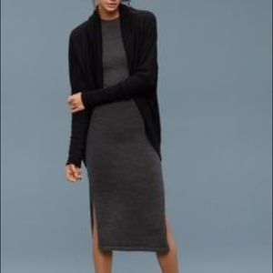 Aritzia Wilfred Wool Sweater Dress